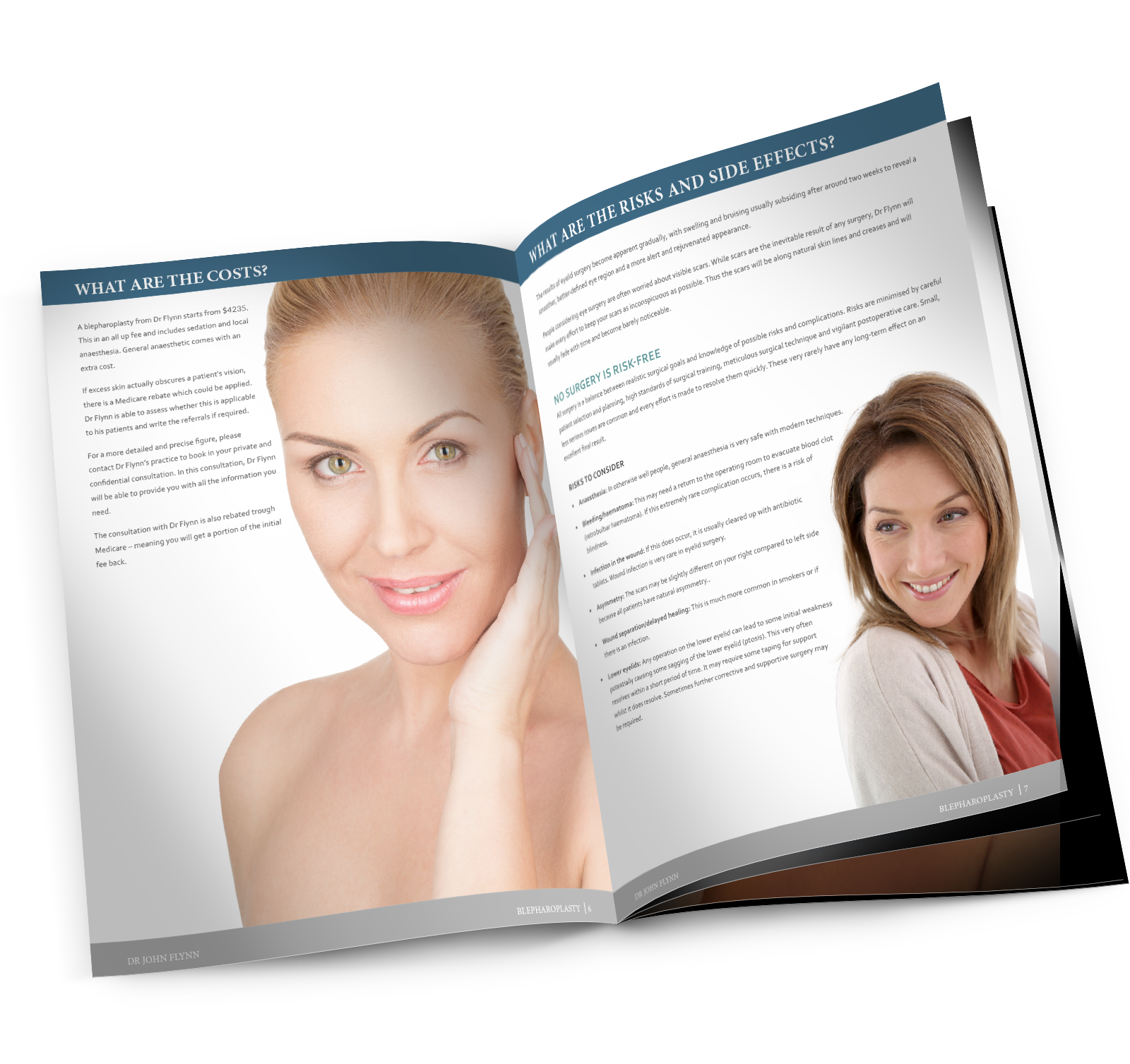 Your Guide To Eyelid Surgery | Info-pack | Dr John Flynn